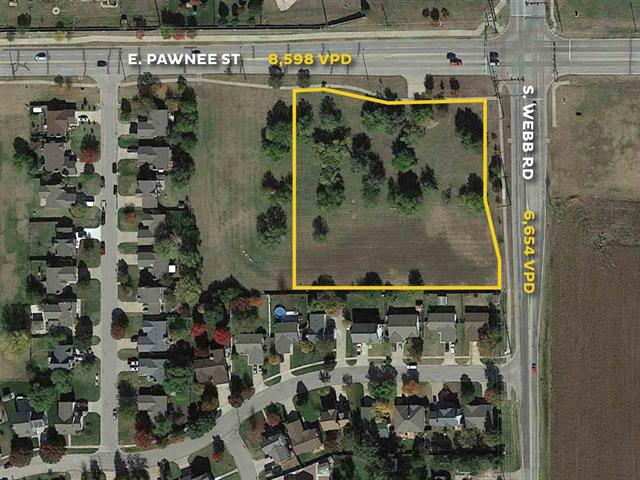 For Sale: SW/c of E Pawnee and Webb Rd, Wichita KS