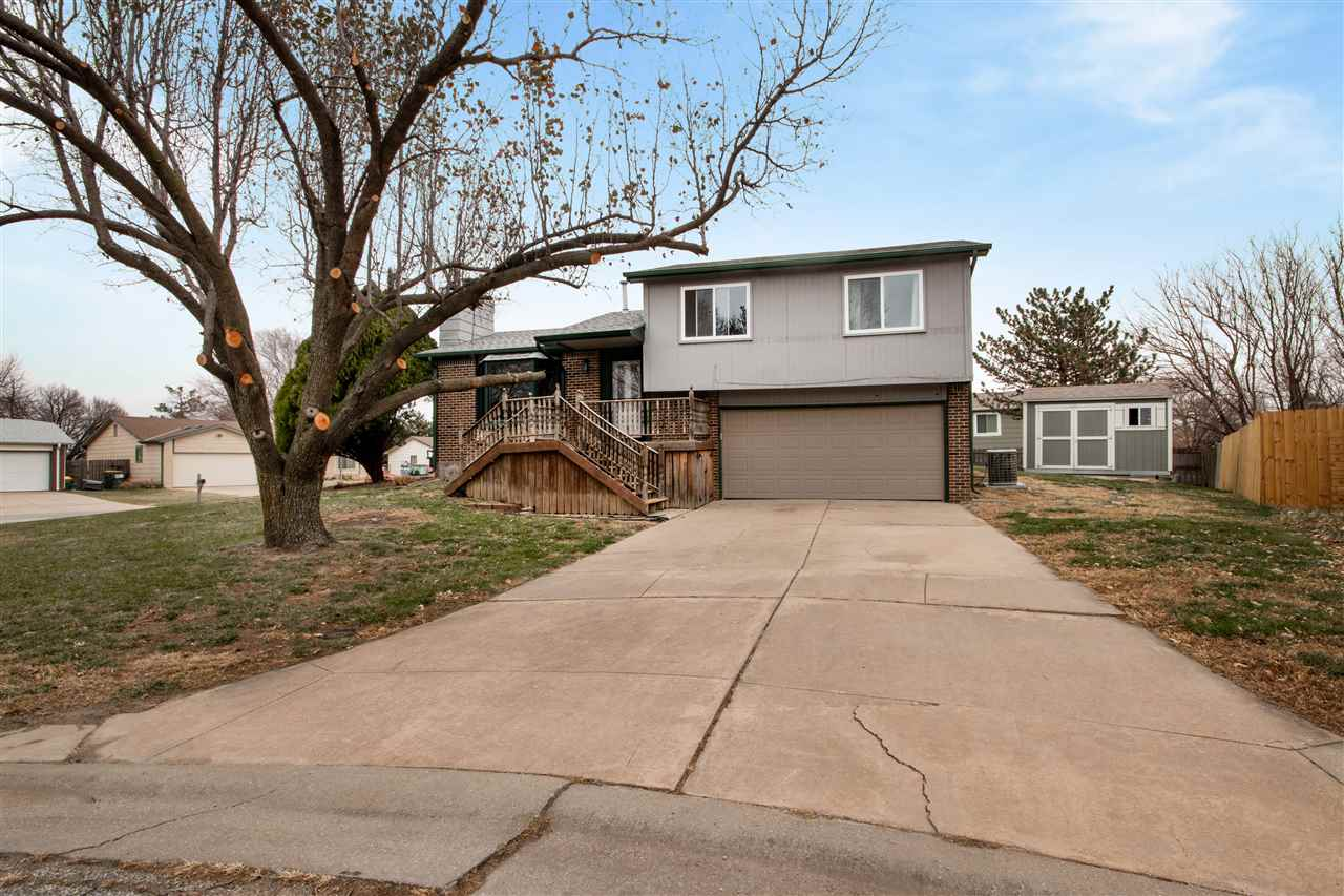 Picture yourself in this 3 bedroom, 2 bath home in northeast Wichita. Close to shopping, gym, nature