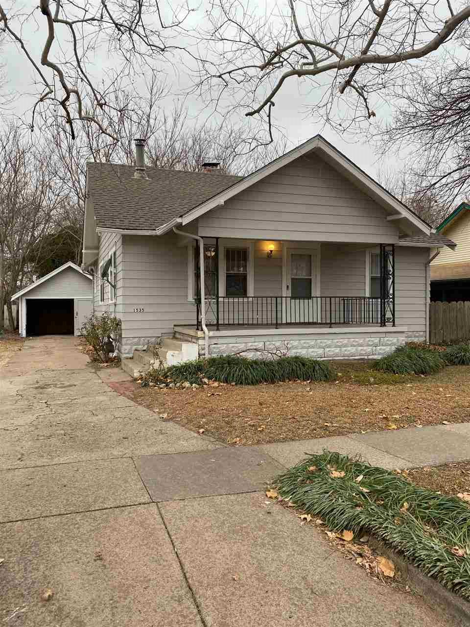 Beautiful newly updated ranch style home in the heart of North Riverside Wichita neighborhood. This