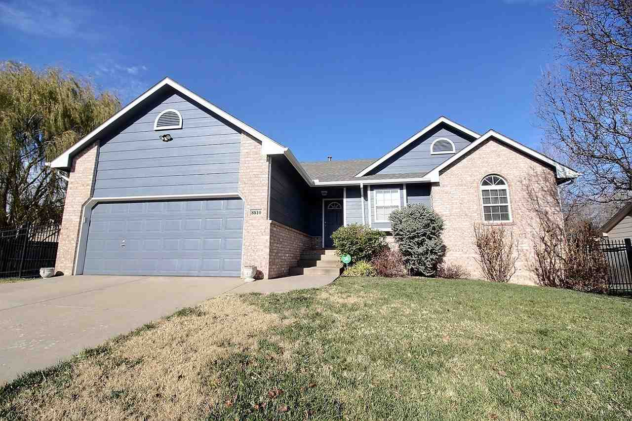 This 4-bed, 3 bath home, in Maize South Schools, is located just minutes from the New Market Square