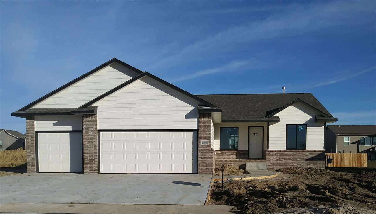 Great Eastside location close to shopping, Spirit, Beech, McConnell, and Kellogg. Built with quality