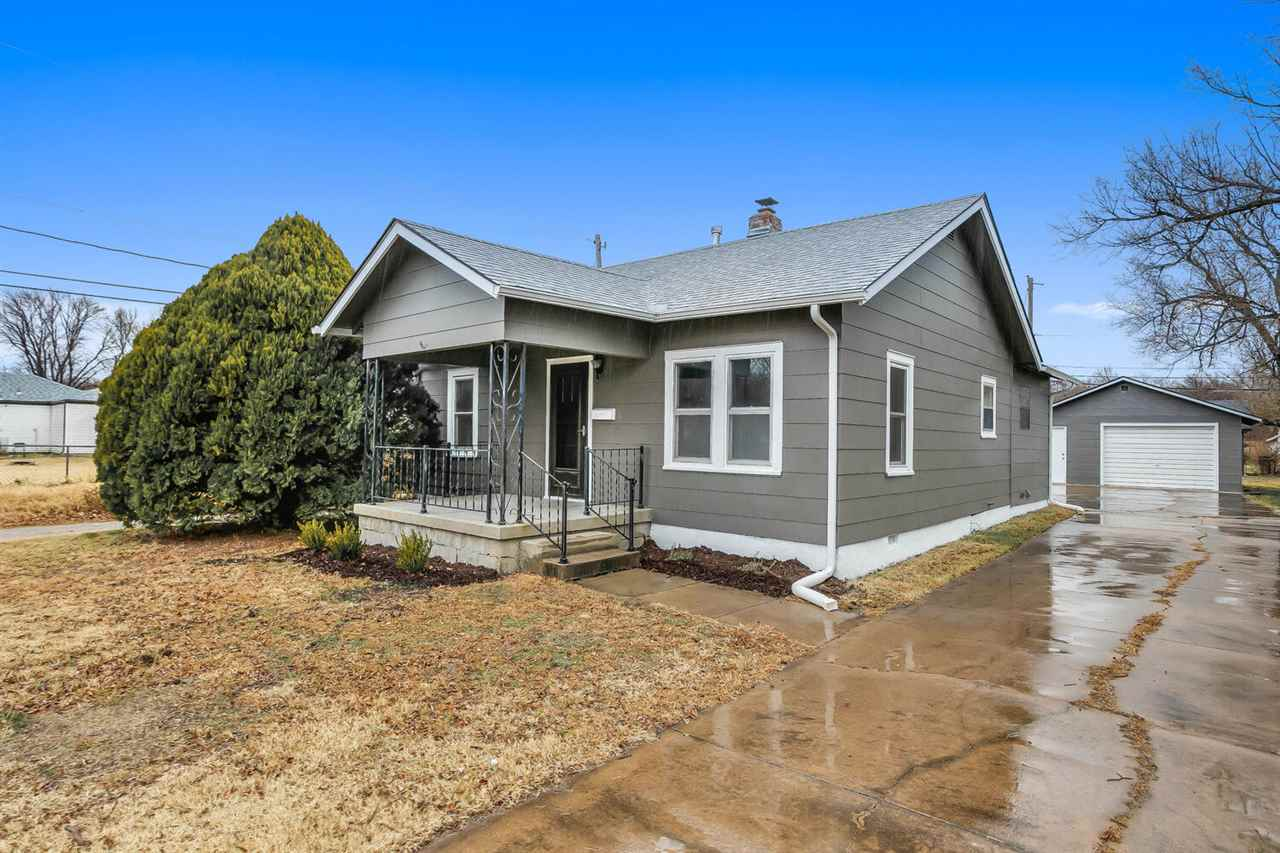 This super cute home in south central Wichita has been totally updated and is the perfect starter ho