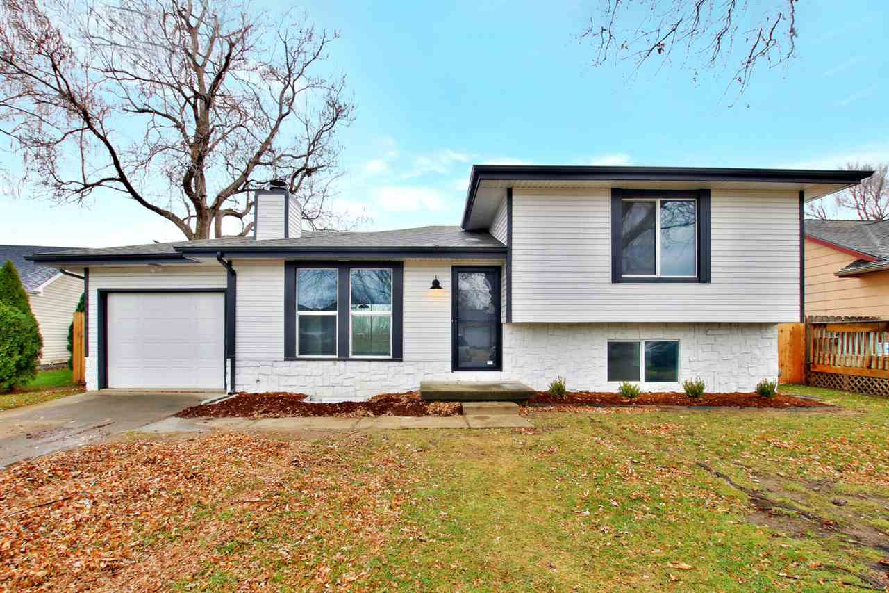 """Completely remodeled home in one of SE Wichita's """"hidden gem"""" neighborhoods! Boasting new paint, win"""
