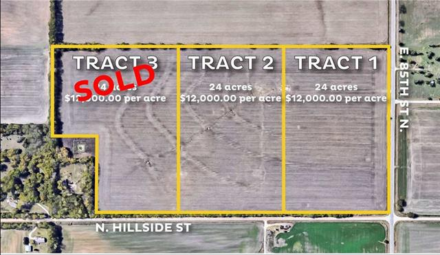 For Sale: SW/c of E 85th St N and N Hillside – Tract 2, Valley Center KS