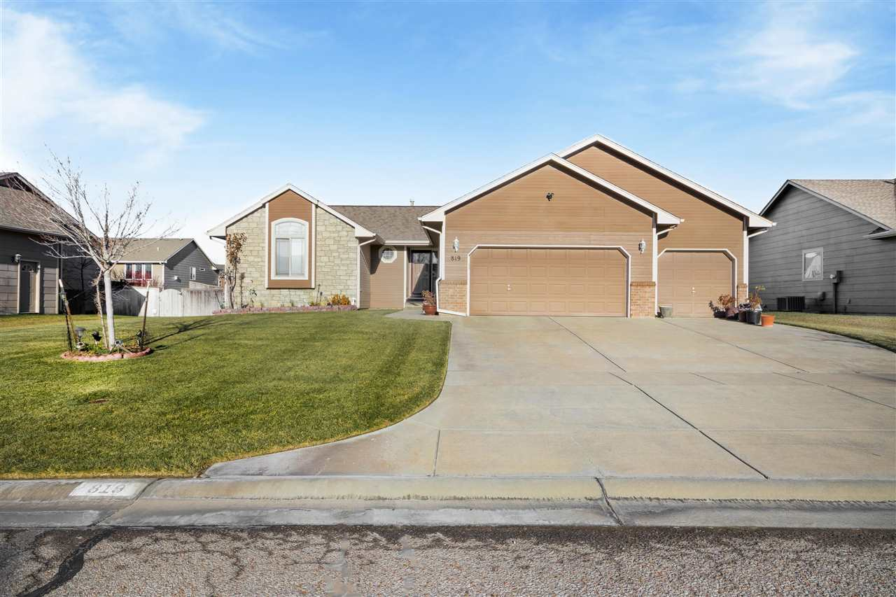 Come see this 5 bedroom, 3 full bathroom ranch home with a view out basement in a hidden neighborhoo