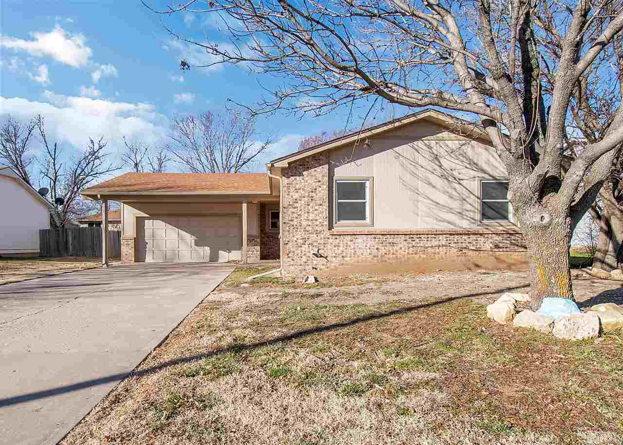 Price adjustment!  Attractive ranch style home located in the heart of Bel Aire, KS.  Completely upd