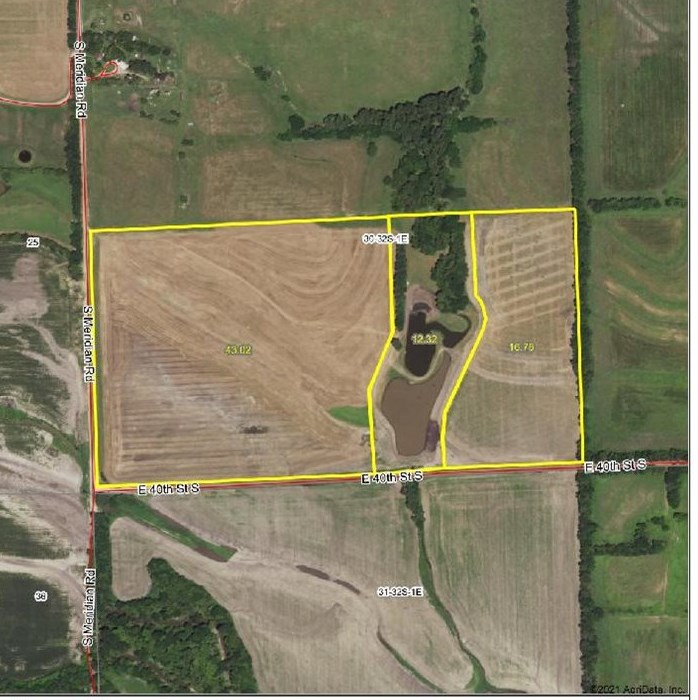 For Sale: S Meridian Rd, Wellington KS