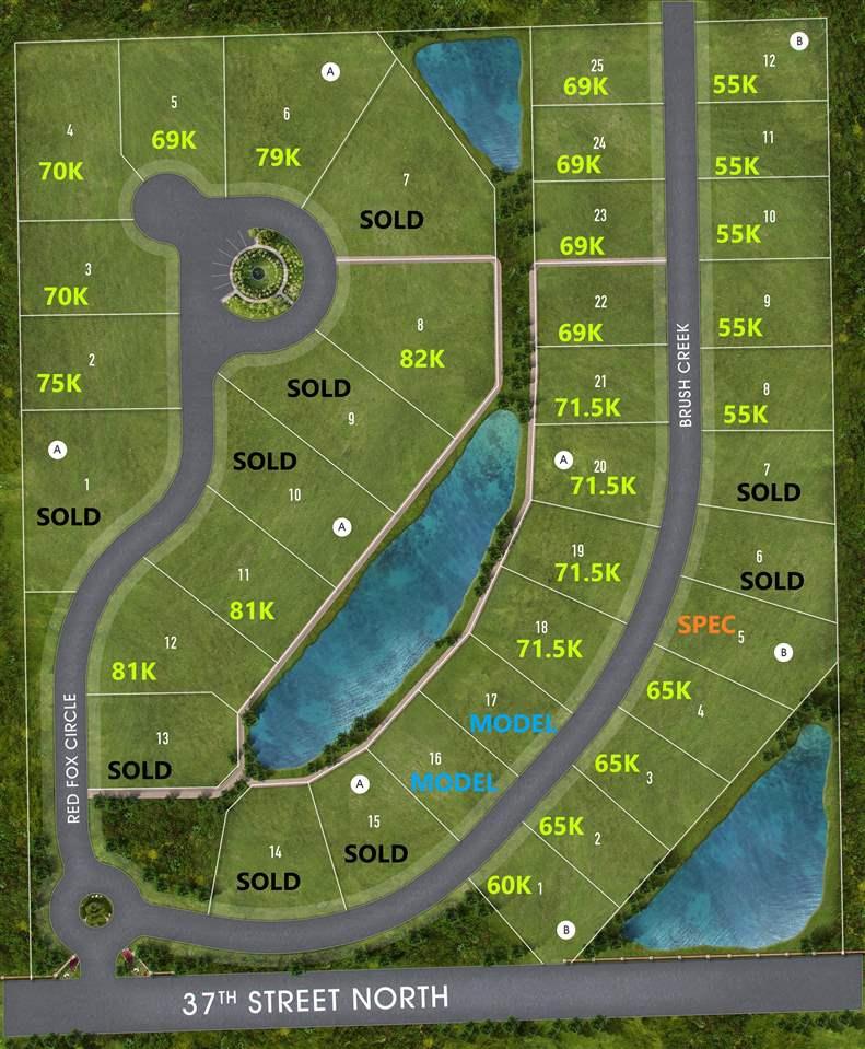 For Sale: 3857 N Brush Creek, Maize KS