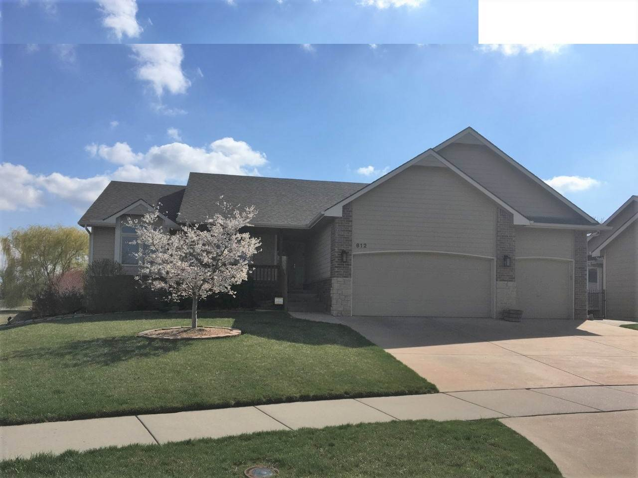 "BRAND NEW YEAR AND BRAND NEW LISTING.  Come see this meticously maintained 5 bedroom home in the popular Crescent Lakes neighborhood.  Tile entry greets you at the front door and leads you into a warm inviting living room in this open concept floor plan.  The living room boasts picture windows plus stone fireplace, perfect for well earned quiet time.  The Dining area has a wall of windows and is adjacent to the kitchen. Access to the covered deck is through sliding glass doors in Dining area, perfect for outdoor fun and entertaining.  The kitchen with its warm cabinetry, ample work space and breakfast bar make family meal preparations easy.  The main floor laundry is conveniently tucked between the kitchen and garage.  The Master Suite has a  walk in closet, and private bath with shower, jacuzzi bath and dual vanities.  Two additional bedrooms share the hall bath.   The view out lower level is complete with large family room, 2 additional large bedrooms, bath and storage.  Numerous upgrades include all LED lighting throughout the home, ""Smart"" Garage Doors, Epoxy garage floor,  Ring-Doorbell system, Commercial Sysco Wi-Fi CAT 6, Alarm System is active and can be transferred. Water Softner remains.  Crescent Lakes families enjoy 5 private stocked lakes, 2 community pools, clubhouse, playground, sidewalks that wind through the neighborhood and take children across the street to the highly rated Andover Central schools, K-12.  There is also a city park which hosts live concerts during the summer and fall.  Andover is also home to the newest and largest YMCA in the area complete with a waterpark."