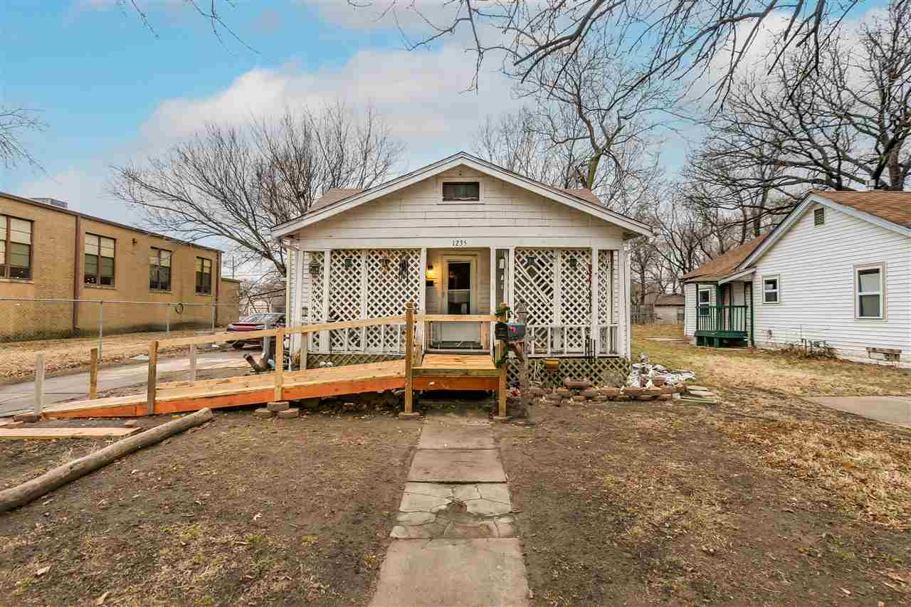 Great investment property and investment deal! This 2 bedroom 1 bath bungalow has had some interior