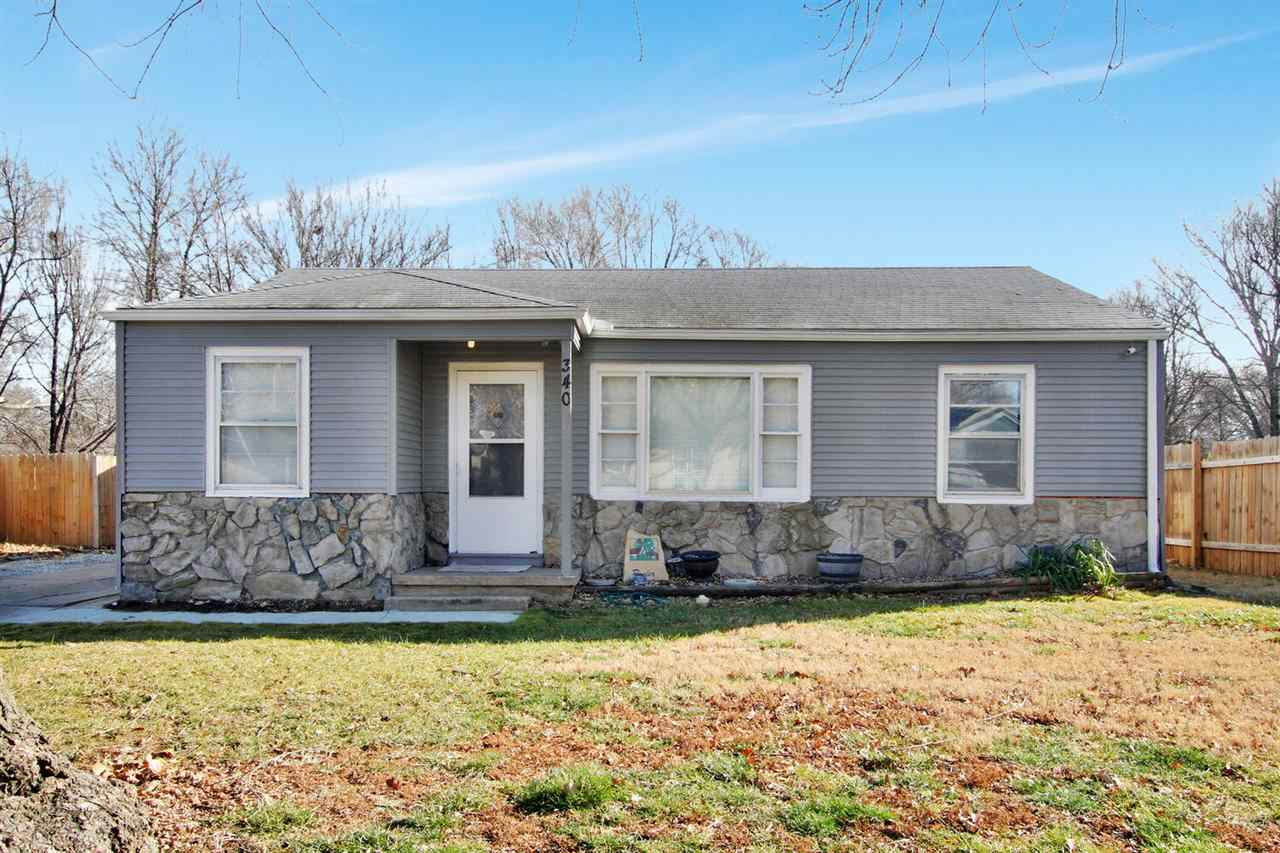 You will love this darling updated home in Haysville! 3 bedroom, 1 bath. Huge carport divided in hal