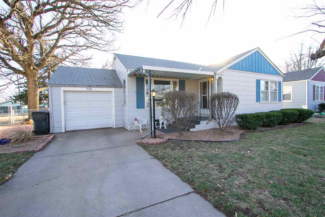 Beautiful, well maintained ranch style home! Perfect starter home or someone looking to downsize. Gorgeous wood work throughout this home! So much extra space in the basement of this home for storage or a craft room! Kitchen was remodeled in 2015. HVAC was replaced in 2019. Roof is only 7 years old! Large, fenced in back yard with a covered patio is great fun for the whole family! Charming neighborhood close to the Sand Creek walking path and Athletic Park.