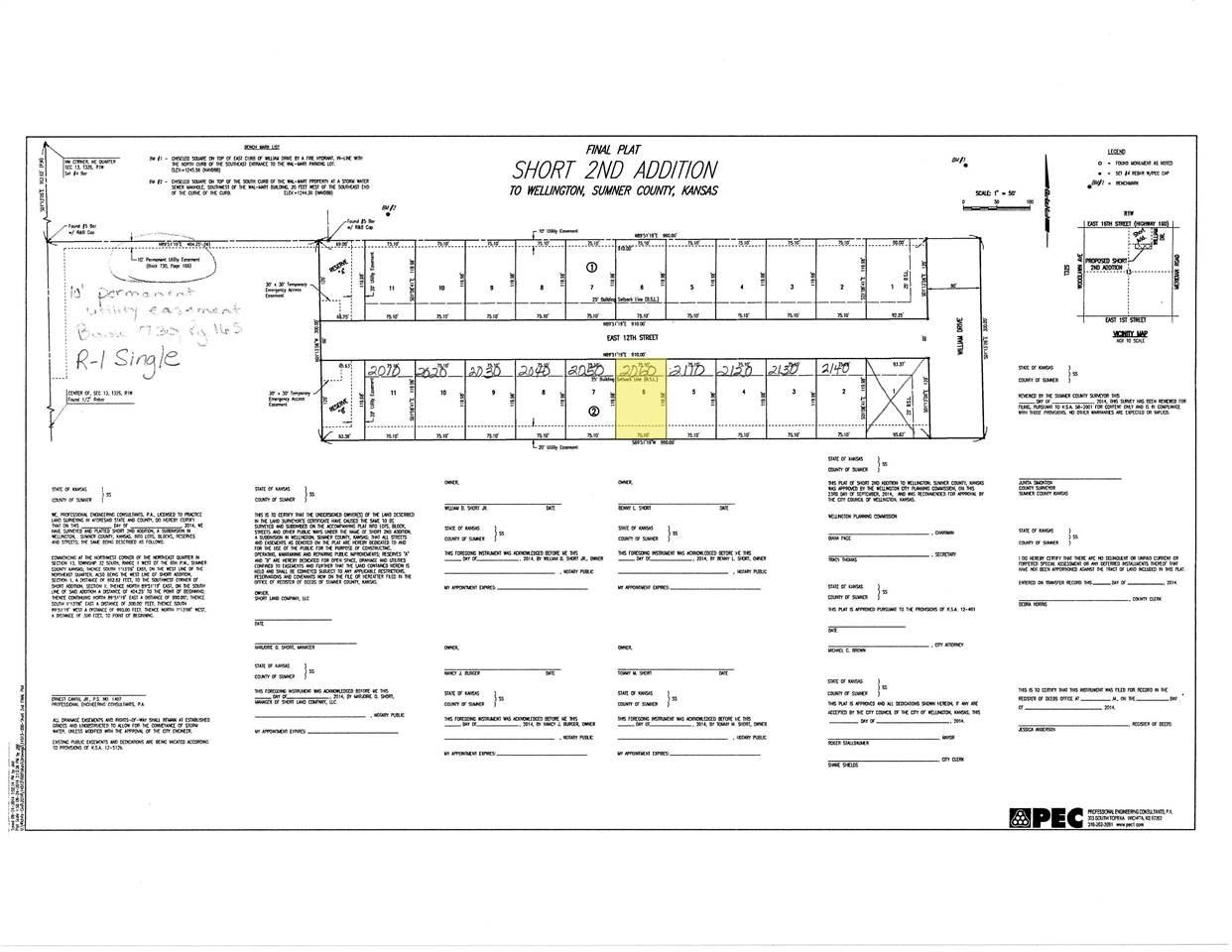 For Sale: 2060 E 12TH ST, Wellington KS