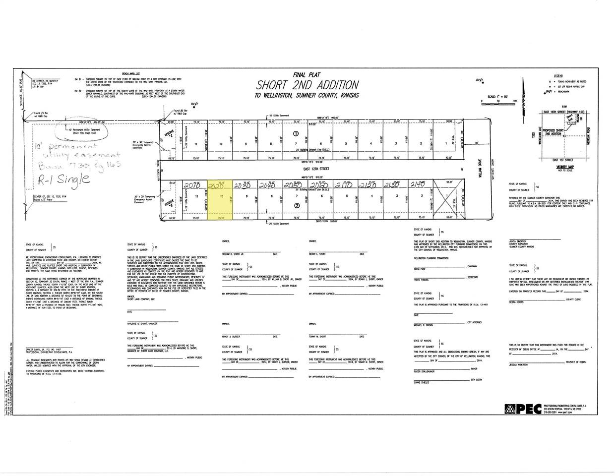 For Sale: 2020 E 12TH ST, Wellington KS
