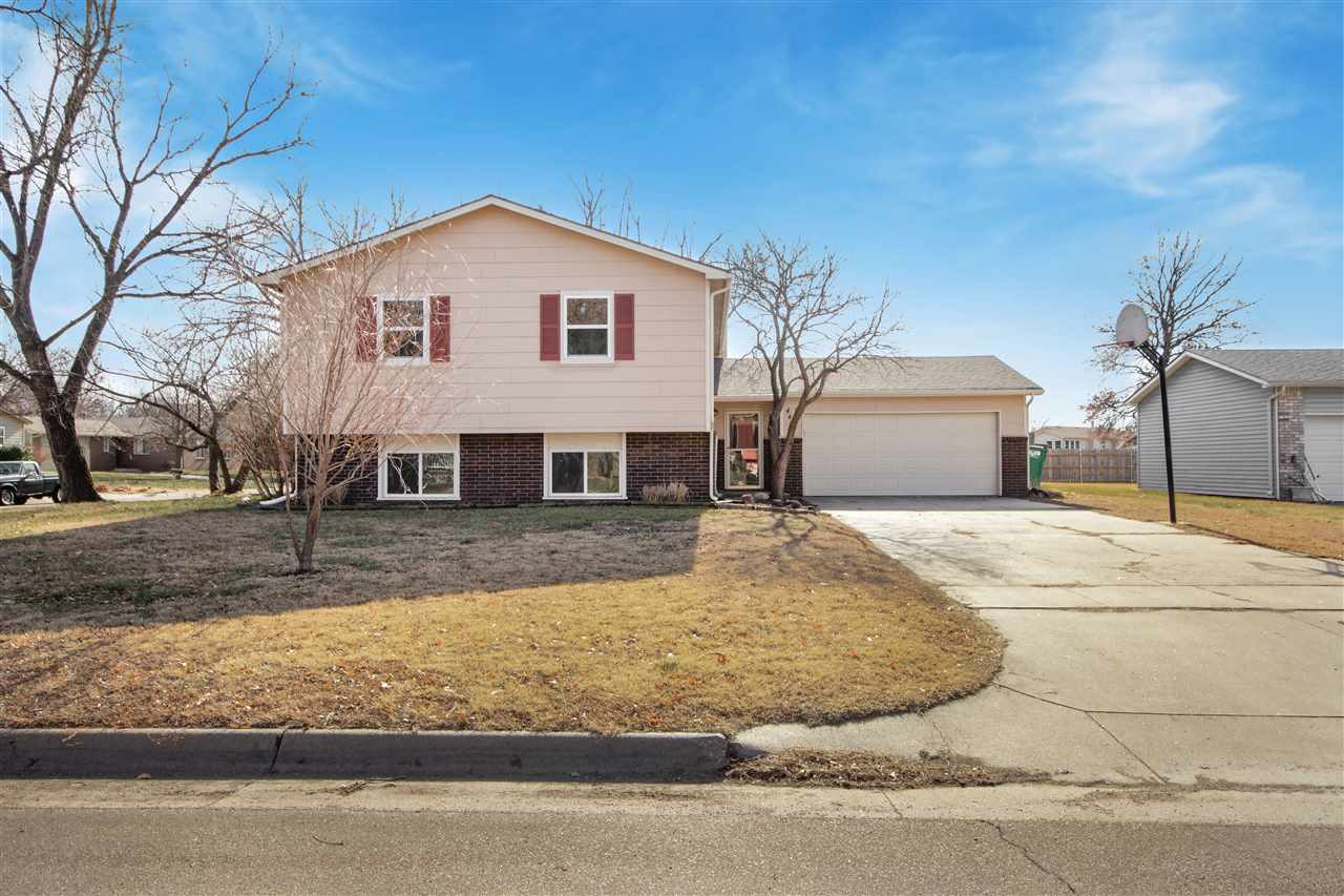 Move in ready home on nearly a quarter acre corner lot! This is a 4 bedroom, 3 bathroom, bi-level ho