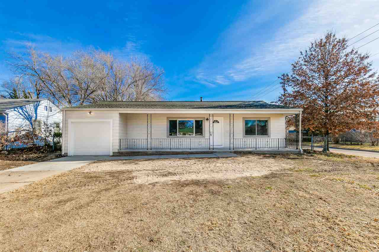 Beautifully updated 3 bedroom, 1 bathroom home with 1-car detached garage in Southeast Wichita close