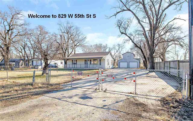 For Sale: 829 W 55th St S, Wichita KS