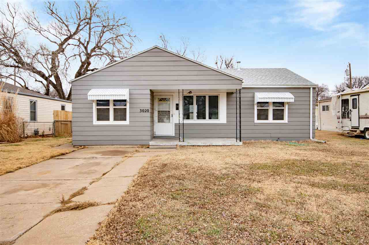 Check out this sharp 3 bedroom, 1 bath ranch home in SW Wichita! Beautiful floors in this spacious l