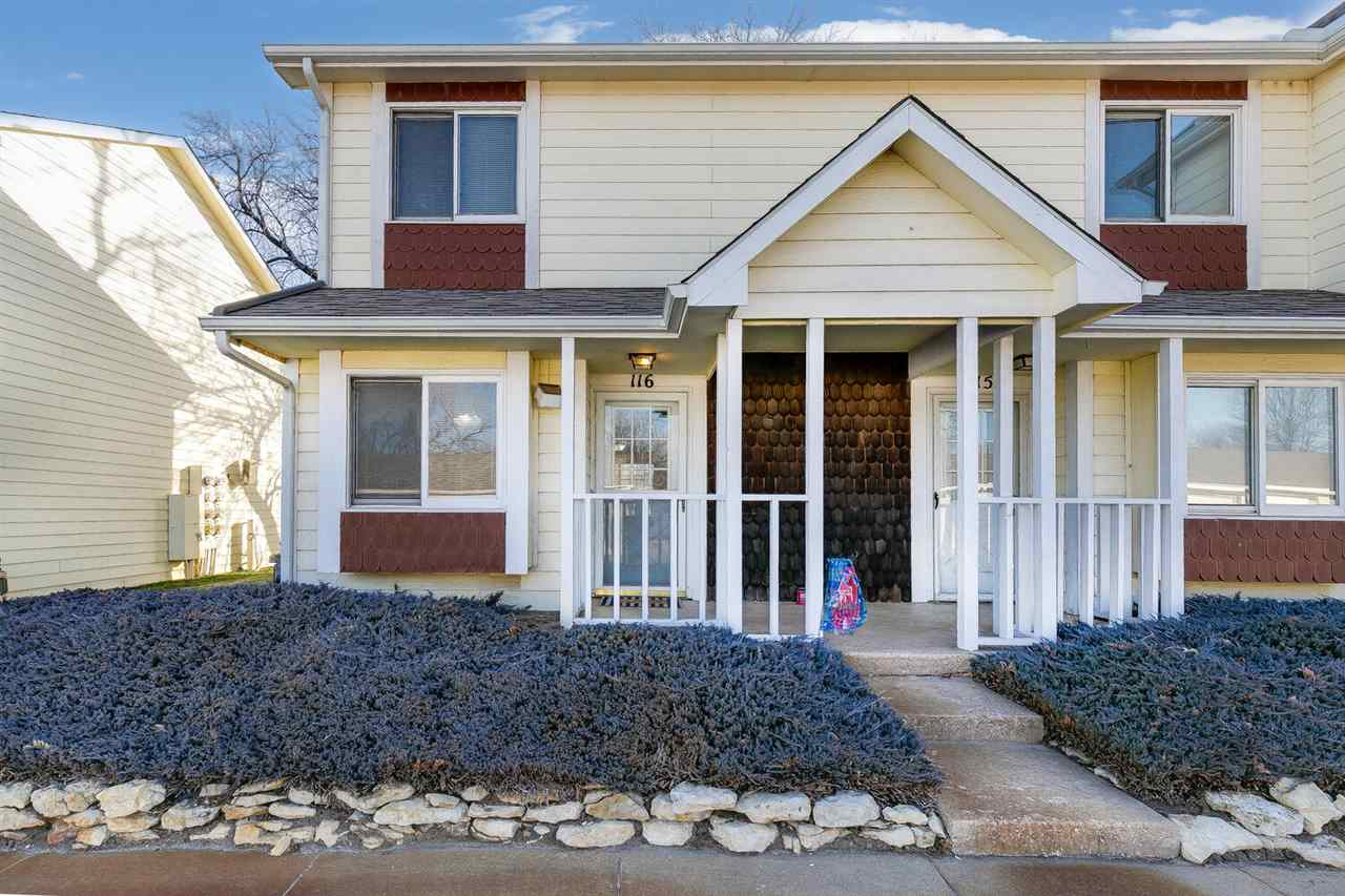 Welcome home to this adorable 2 bedroom, 1 bathroom condo in the heart of west Wichita! The main flo