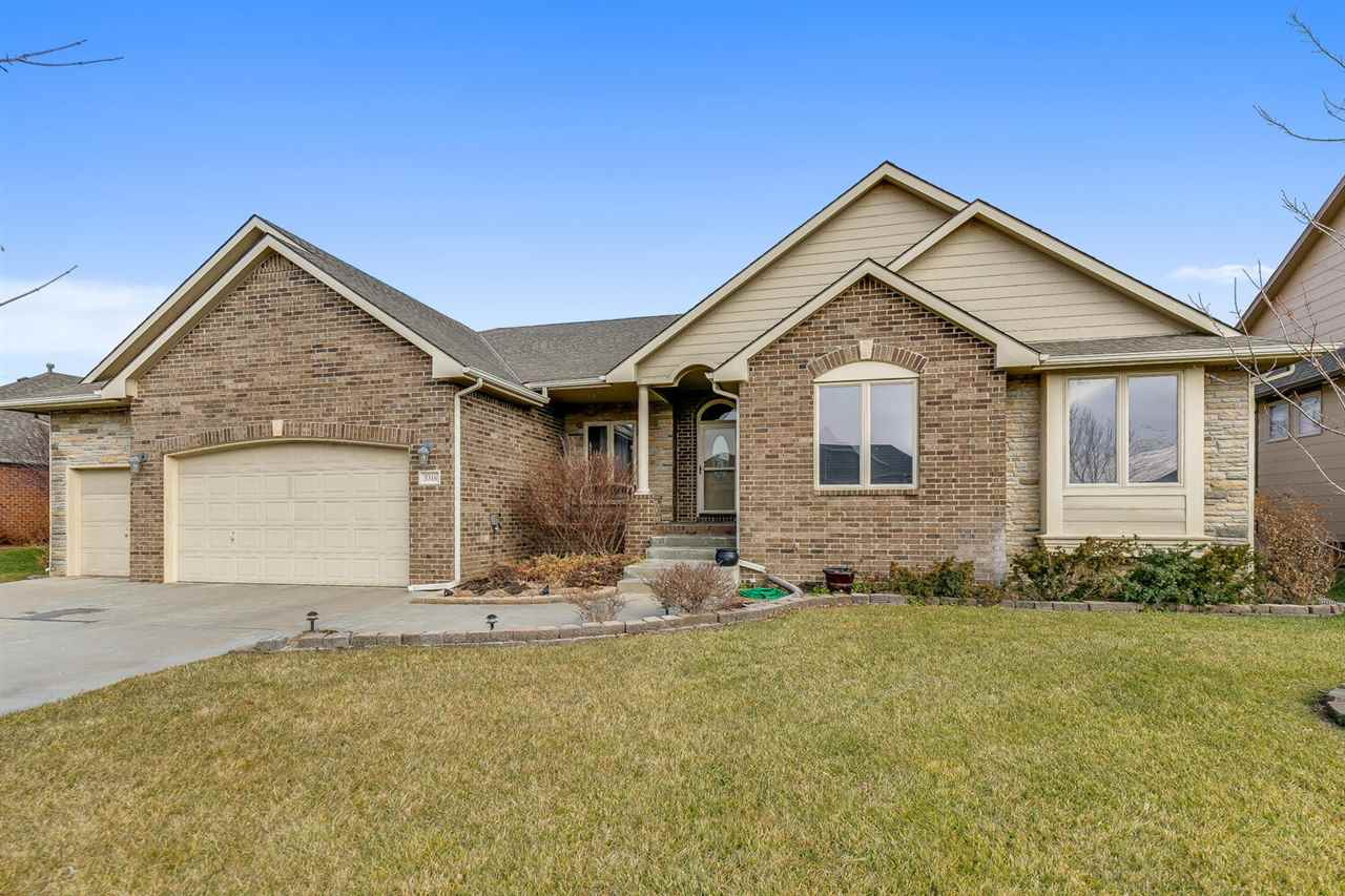 Located in Fox Ridge subdivision in the Maize School District within walking distance to school.  Gr