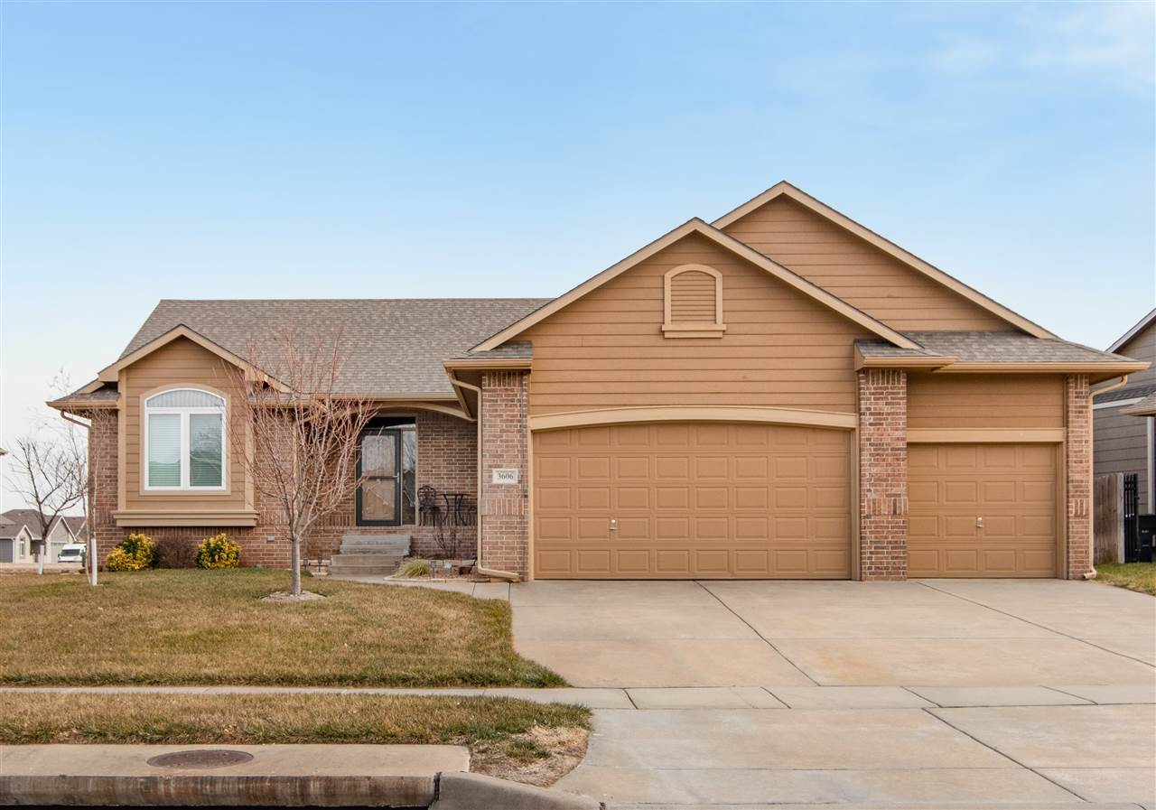 Great home in NW Wichita in a quiet neighborhood with easy access to K-96. This a 4 bedroom, 3 bathr