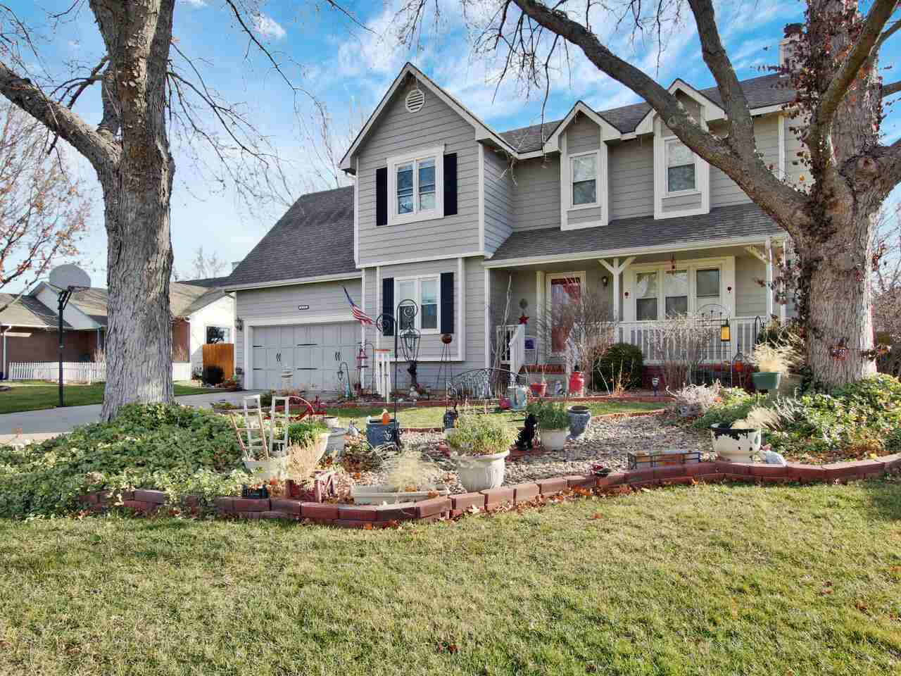 Don't miss this beautiful 2-story home in the Maize School District, nestled in the prestigious Chad