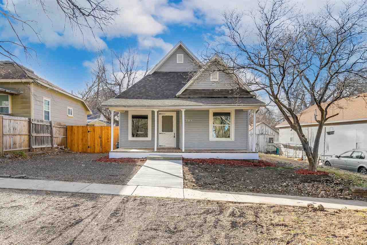 It will be love at first sight when you step into the 3 bedroom 2 bath bungalow in the heart of Mulvane's old town.  Newly remodeled the home boast open floor plan, granite countertops, and new appliances. The large fenced yard with ally access perfect for a future garage.