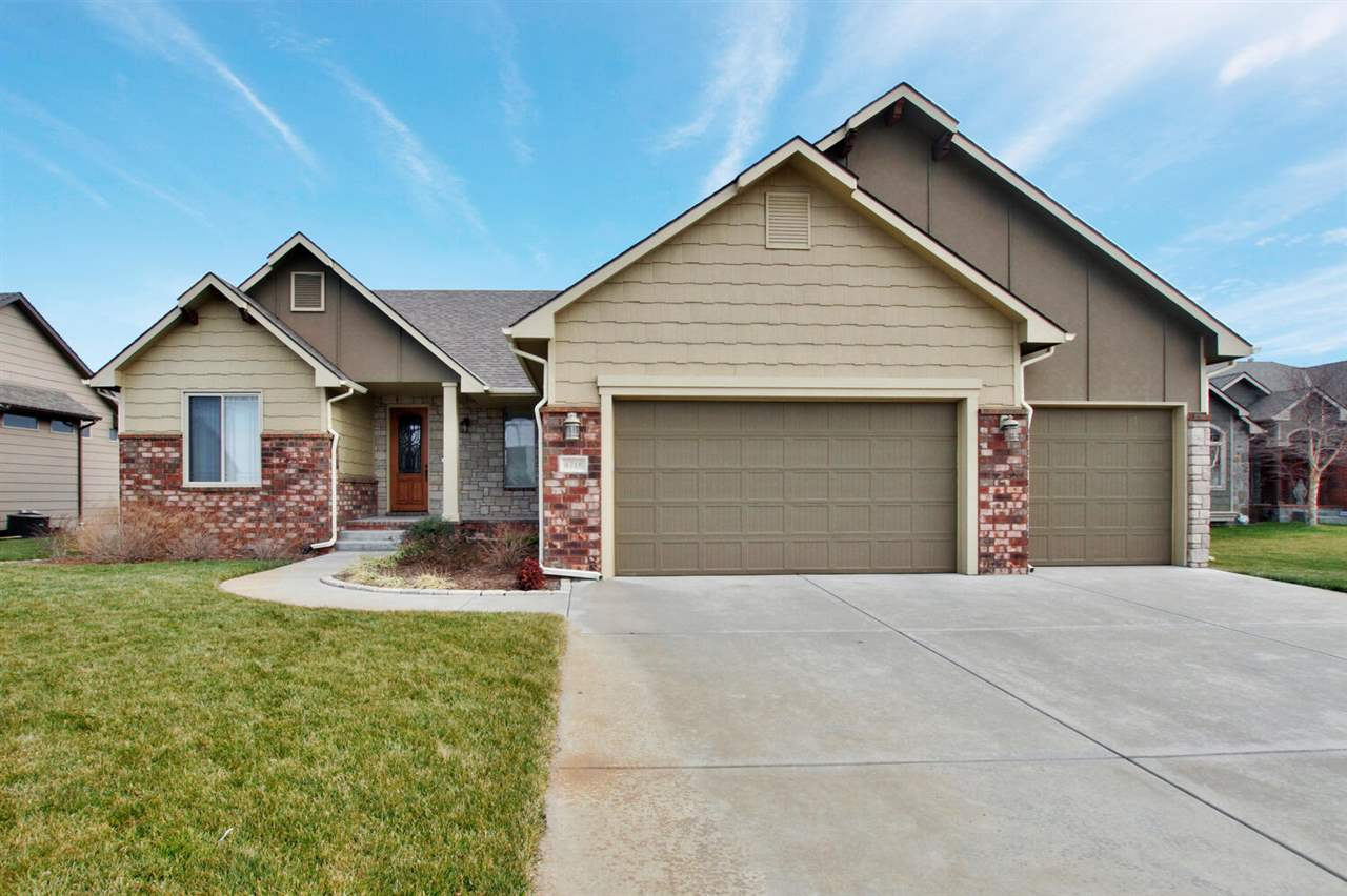 This fantastic home checks all of the boxes! Maize Schools, 5 bed, 3 bath, 3 car garage. Split bedro