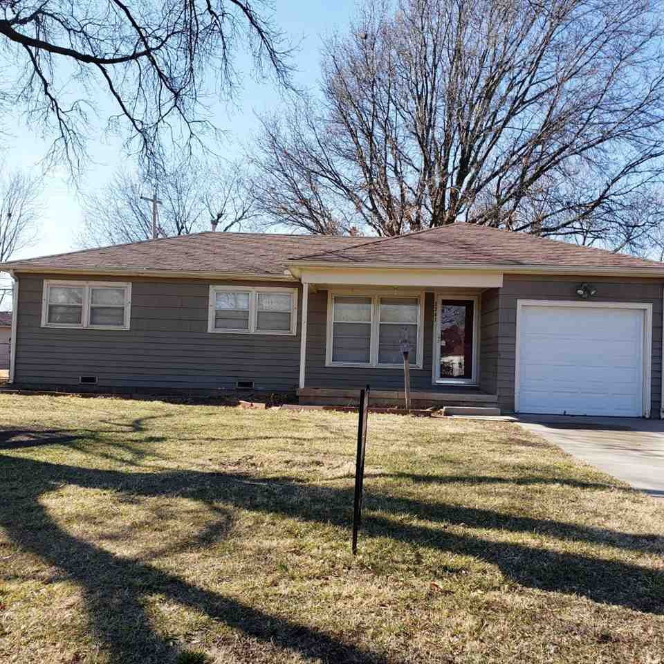 Cute home! Needs some TLC. Hardwood flooring through out the home, 3 bedrooms, 1 bath, attached 1 ca