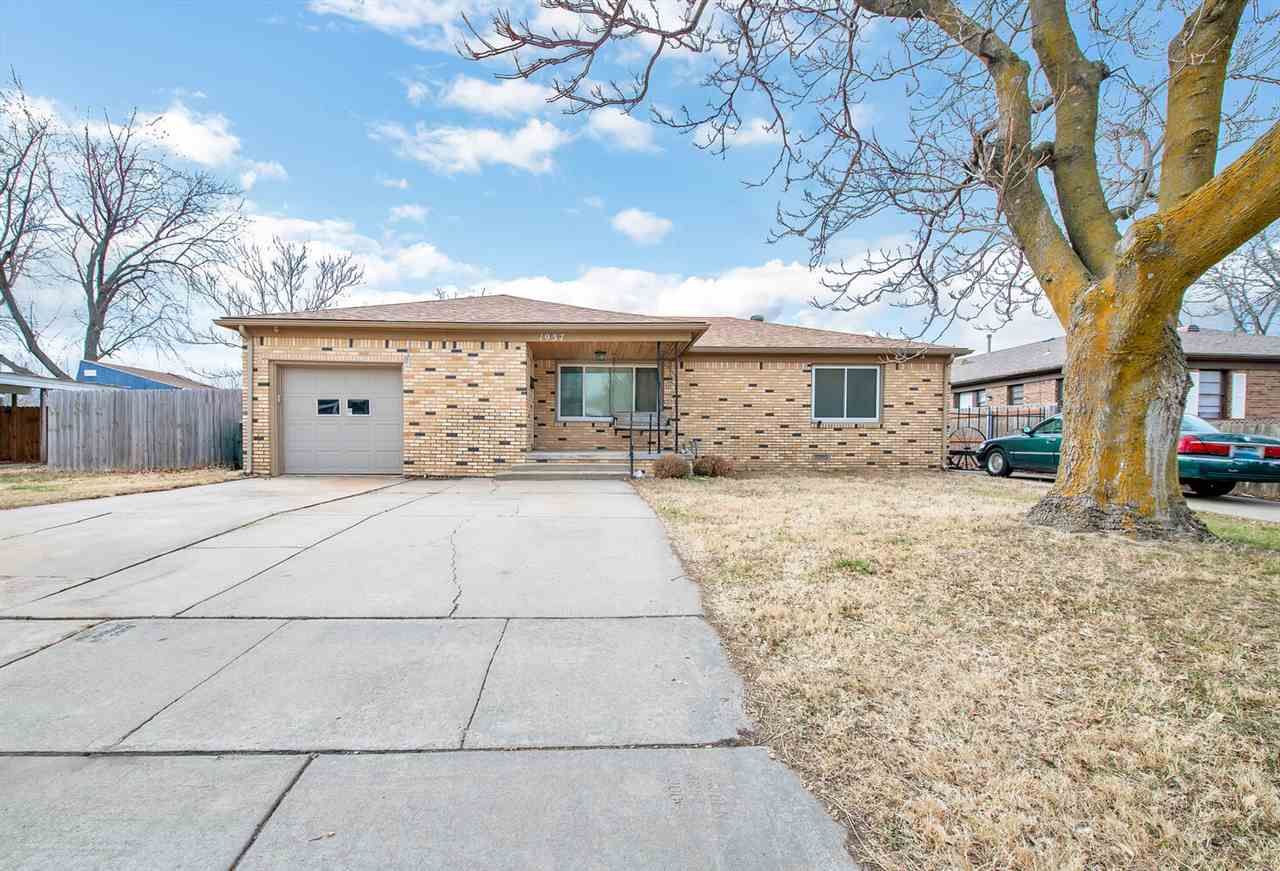 Adorable ranch home upgraded and move in ready! Easy to clean floors, open and airy with new applian