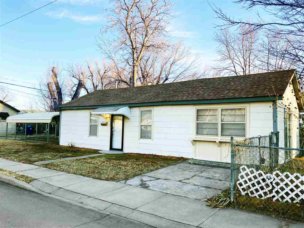 Light, fresh and welcoming Two Bedroom ranch. Freshly painted and well cared for. Features spacious