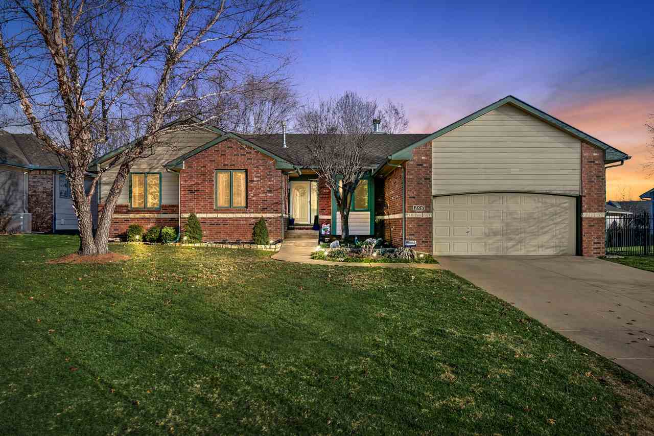 This is one of the nicest homes in west Wichita in a signature West Wichita neighborhood.  4 bedroom