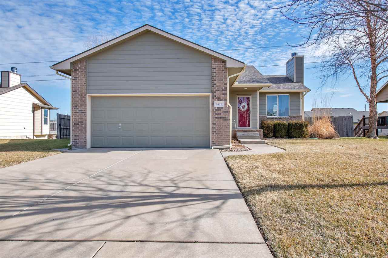 This is an incredibly clean 2006 built ranch in the Maize school district.  This home has an oversiz