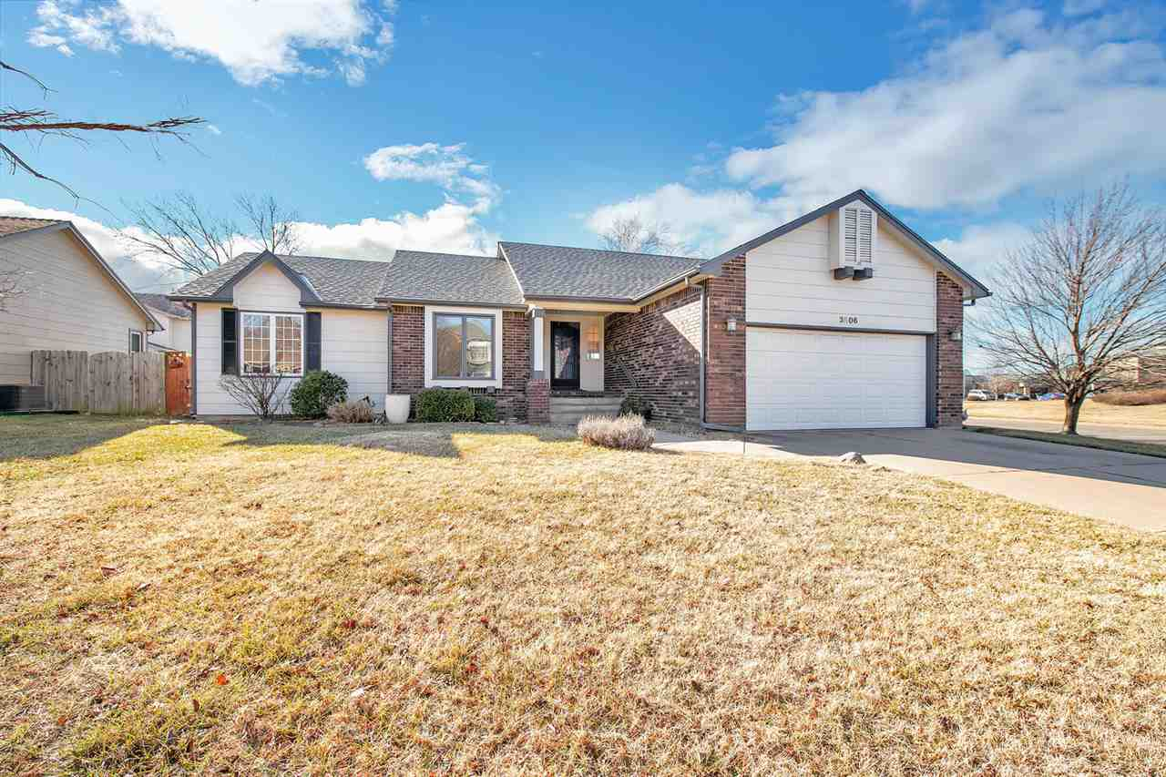 Home sweet home! This brick house is located on a corner lot. The main floor has 3 bedrooms and 2 ba
