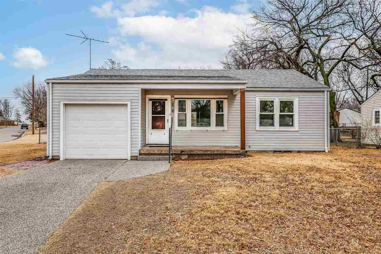 Cute ONE FAMILY OWNED Home situated on a flat, Corner Lot with no trees!  BRAND NEW ROOF! Vinyl siding and newer windows.  New Exterior Man Door and Front Porch Post.  Electrical Updated with a BRAND NEW PANEL!  Just move in and make it yours!  Basement.