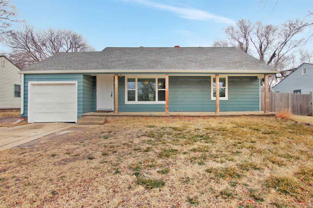 Don't miss this 3 BR/2 BA ranch in a convenient location of northeast Wichita.  This home has many u