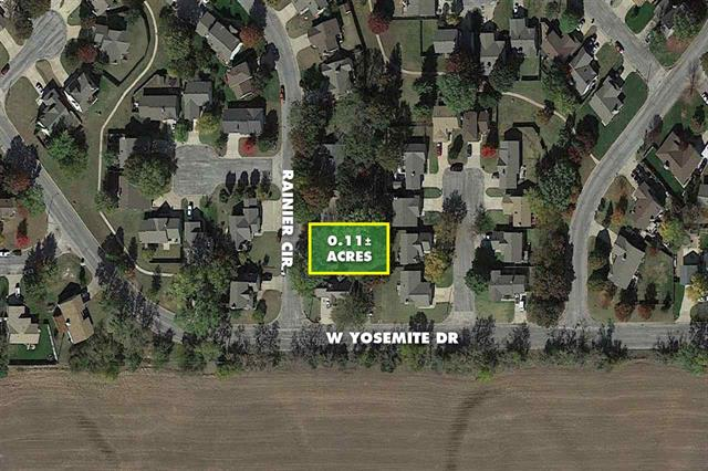 For Sale: 0.11 +/- Acre  Lot at Pawnee & Maize, Wichita KS