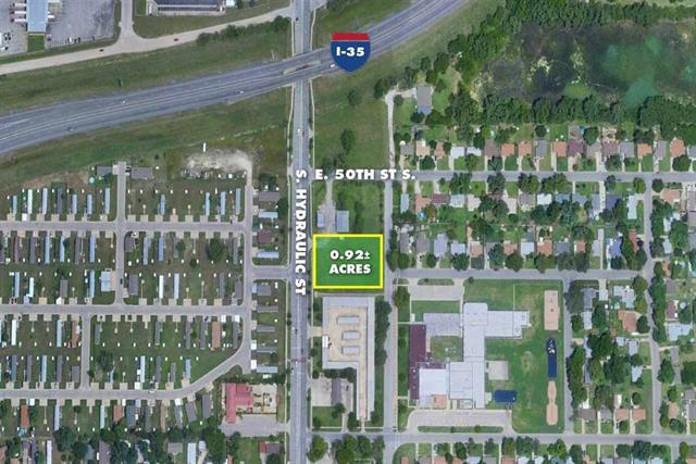 For Sale: 0.92 +/- Acres  Hydraulic Ave, Wichita KS