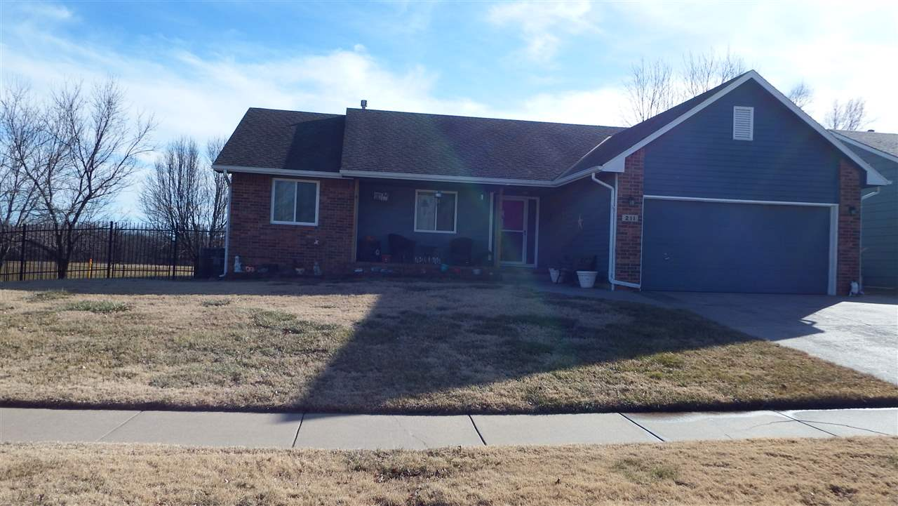 This is a great find in Mulvane.  Spacious 4 bedroom ranch with many extras.  Large kitchen with ton