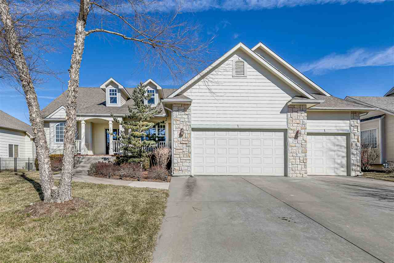 Former Ritchie model home of the Kingston floor plan provides almost 4000 total available square fee