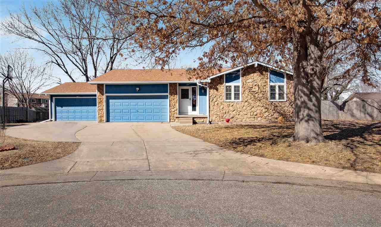 I have the home for you in West Wichita near Central and Maize Rd! This 3 bedroom, 3 bathroom ranch