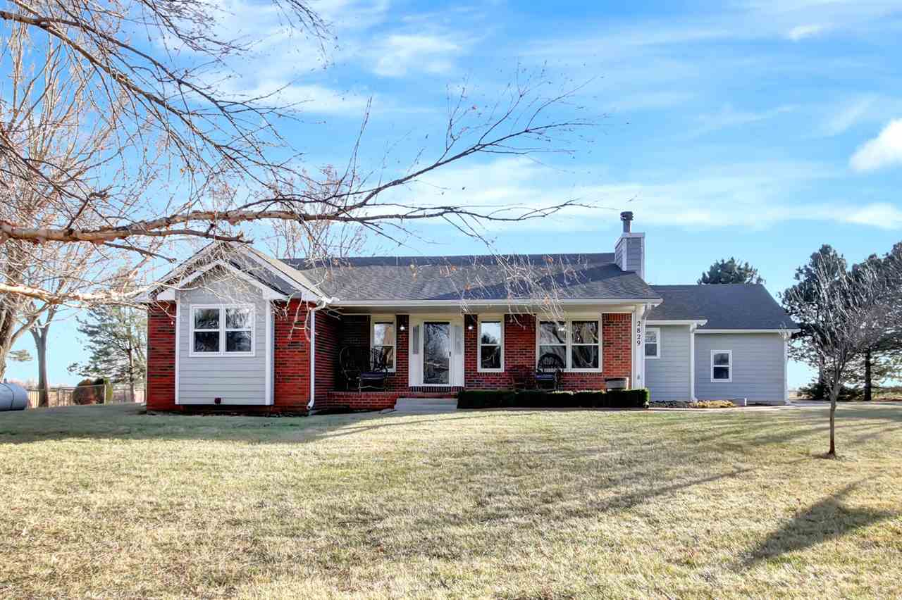 No Country Dirt Roads to this prime located rural property!  Blacktop frontage and paved gated entra