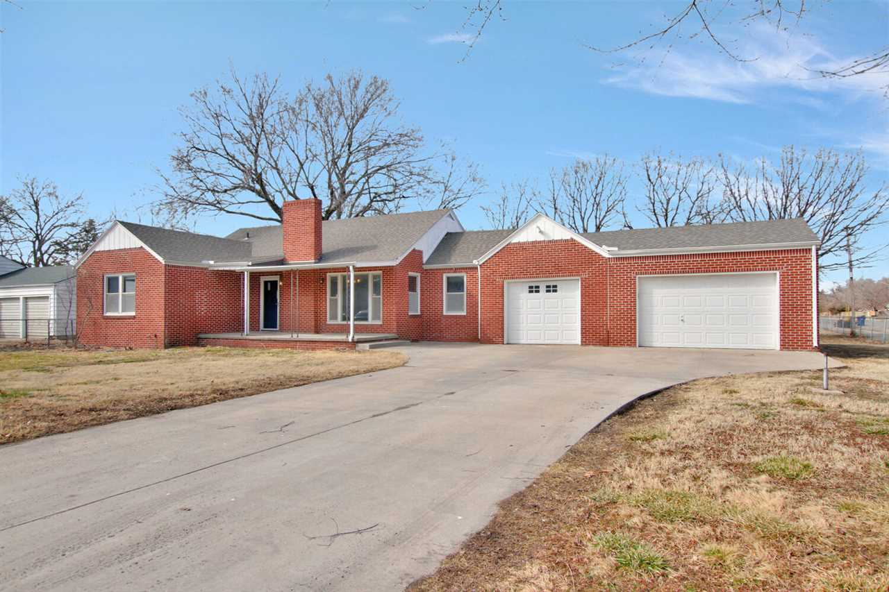 OPEN HOUSE SUNDAY 2/28 2-4PM  Check this one out!  All brick home located on 1/2 acre fenced corner