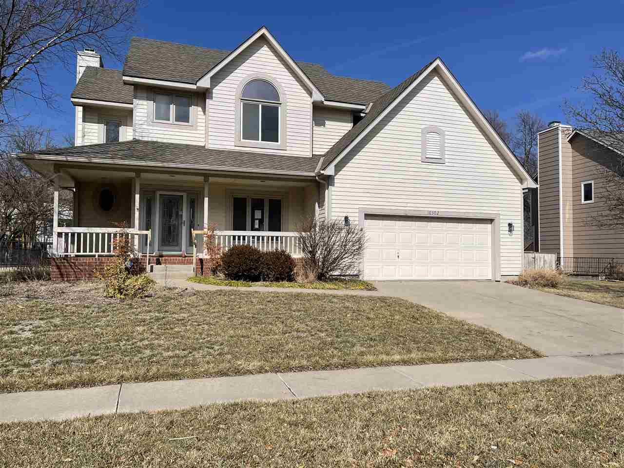 2-story home located in Tallgrass East subdivision.  Interior of home offers 5 bedrooms, 3.5 bathroo