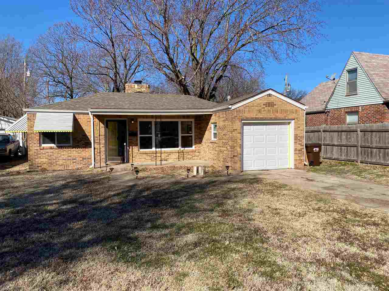 Everything is brand new in this full brick open floor plan house including kitchen, bath, flooring,