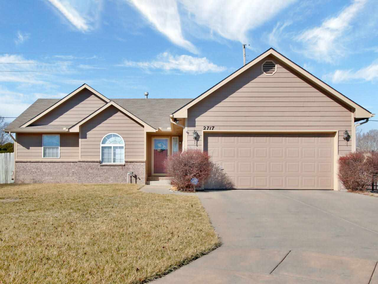 Cozy. Classy. Clean.  This sweet 4-bedroom, 3-bath ranch sits on a quiet cul-de-sac in NE Wichita. W