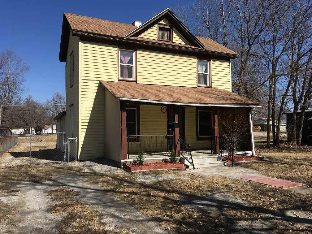 Fairly solid old house with vinyl siding - Several mechanical updates - Roof 5-6 years old - Some ne