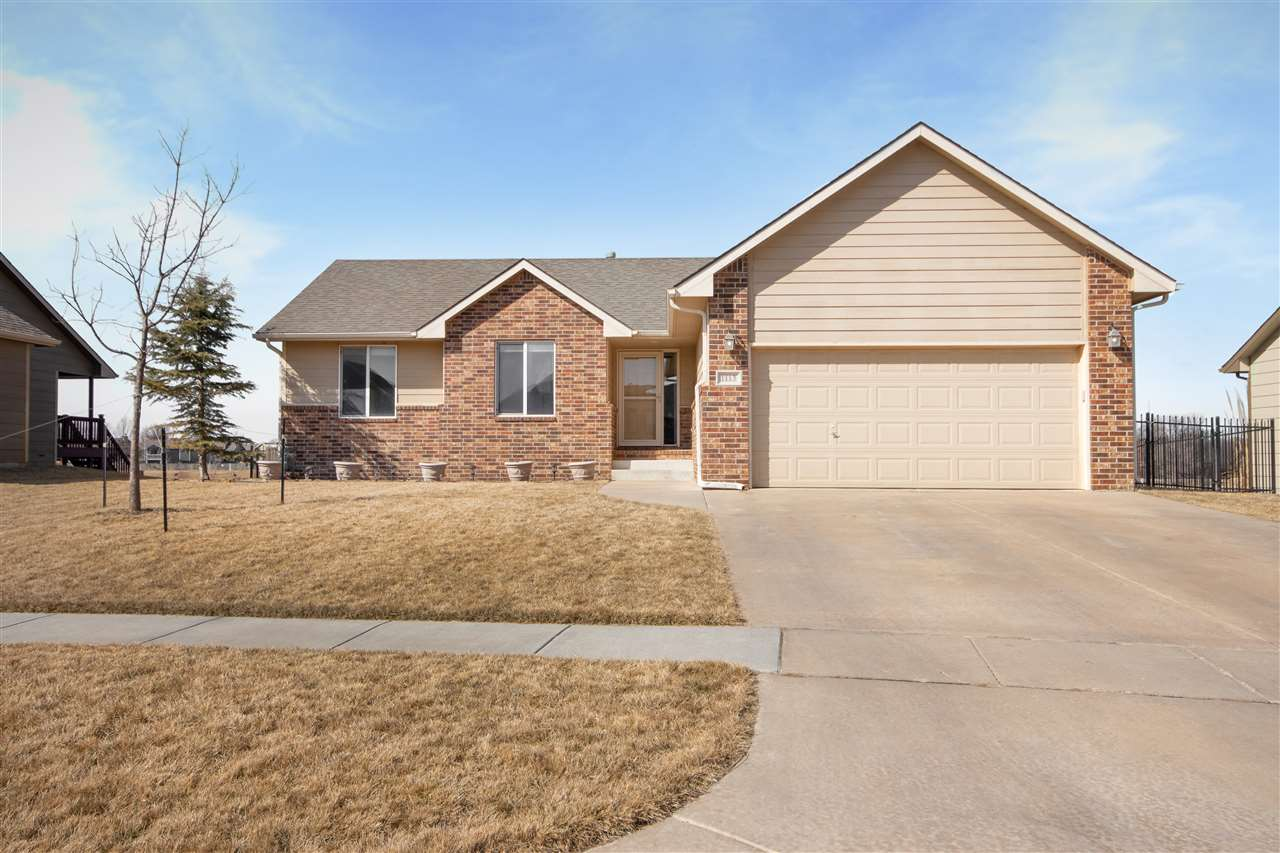 Beautiful home on a lake lot in Goddard in St. Andrews! This home has 4 bedrooms, 3 bathrooms, and a