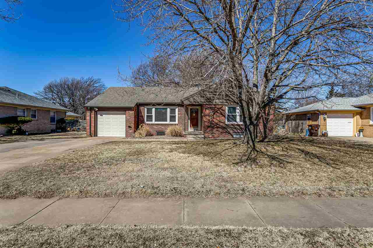 This ROCK SOLID all brick 3 Bedroom ranch home in a convenient located in southeast Wichita is a ste