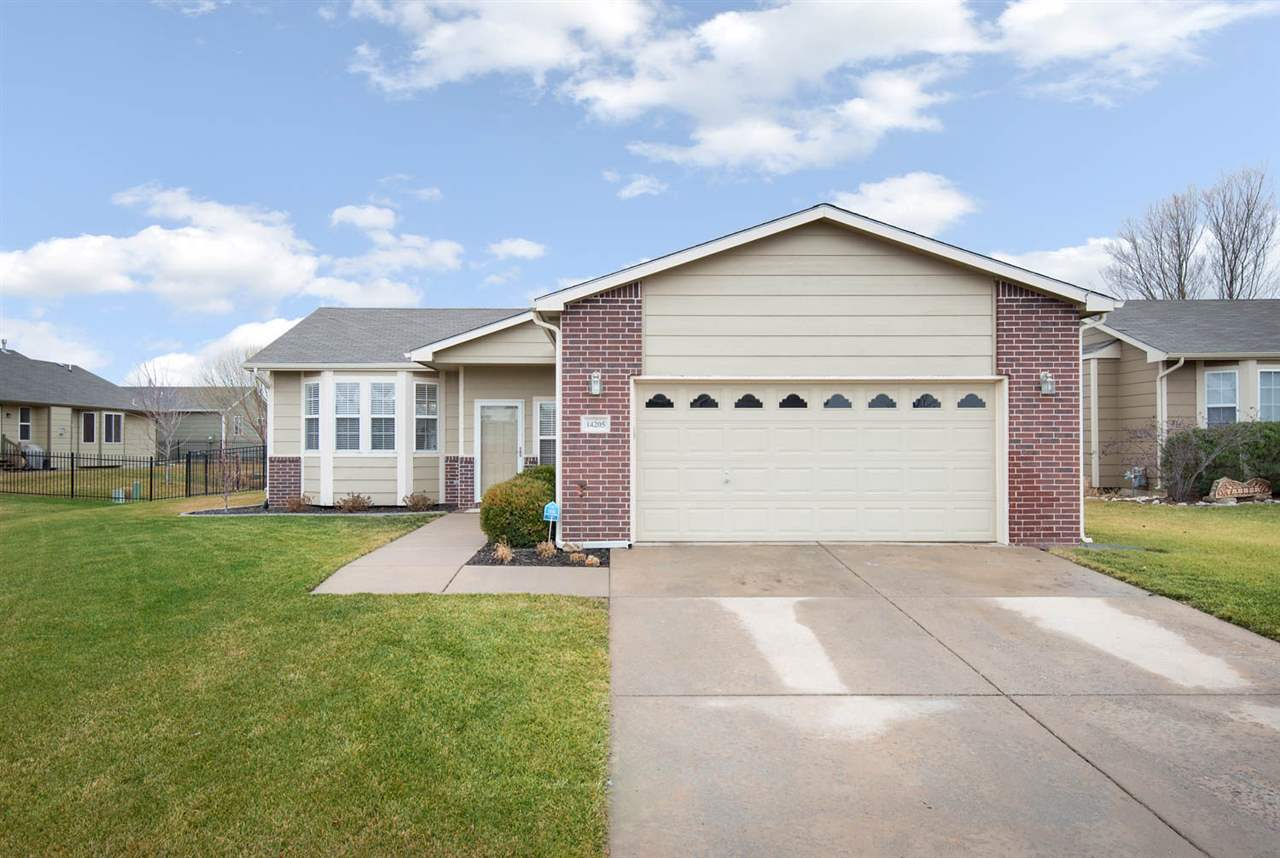 Come view this gem in highly sought after area in west Wichita. Beautiful white cabinets and trim th